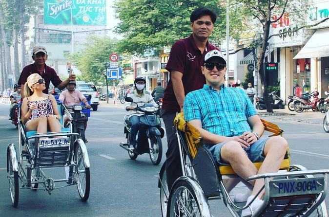 Half Day Cyclo (Rickshaw) Private Tour in Ho Chi Minh City!