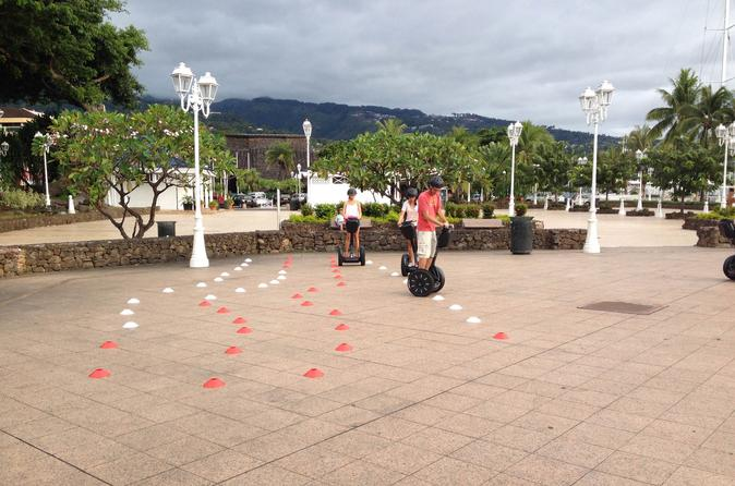 Introduction to the practice of segway in papeete in papeete 230604