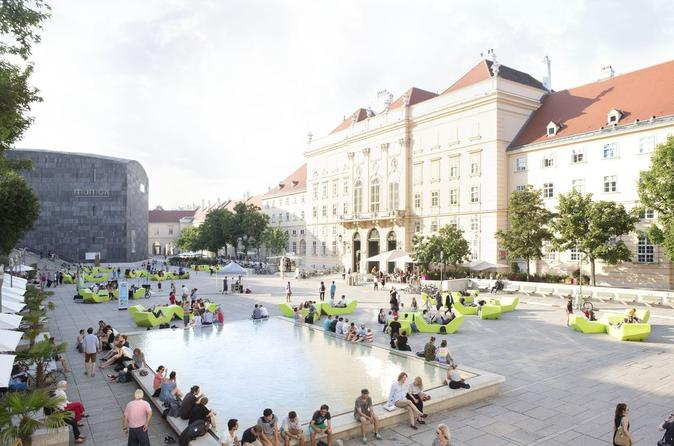 MuseumsQuartier Complex Private Tour in Vienna