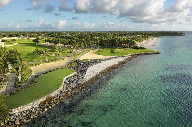 La Cana Golf Course Tee Time and Dolphin Swim Package