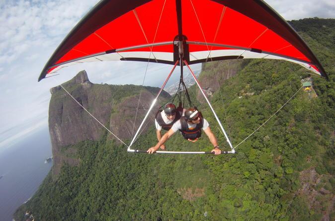Rio de janeiro hang gliding experience in rio de janeiro 235588