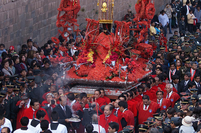 7-Day Holy Week in Cusco from Lima