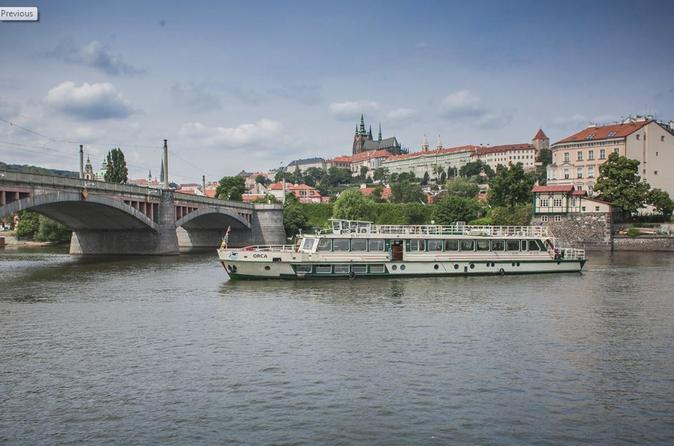 Vltava River Sightseeing Cruise in Prague
