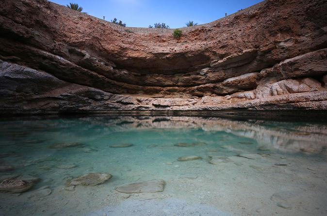 2-Day Tour: Wadi Shab Sinkhole and Sur