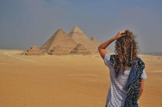Cairo Layover Tours Visit Giza Pyramids Sphinx,Coptic Cairo & Old Bazaar from Cairo airport