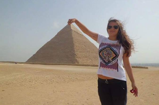 Giza Pyramids the Great Sphinx and Sakkara Private Day Tour