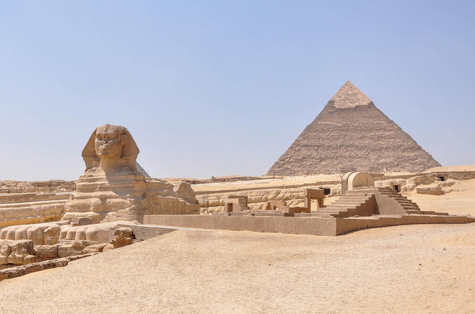 Half-Day Private Guided Tour: Giza Pyramids and Sphinx including Camel Ride