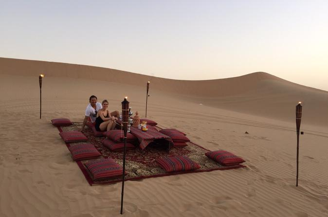 Abu Dhabi Private Romantic Dune Dinner