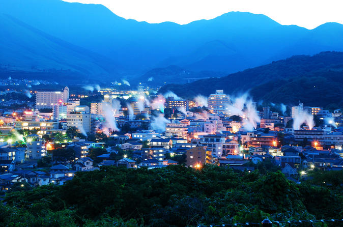 10 Hour Private Customized Tour to Beppu & Yufuin Onsen Resorts from Fukuoka