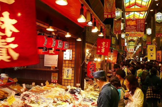 8-Hour Charter Taxi plan to Kyoto: Temples & Nishiki Food Market from Osaka