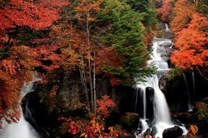 Day Trip to Explore Autumn Colored Waterfalls in Nikko