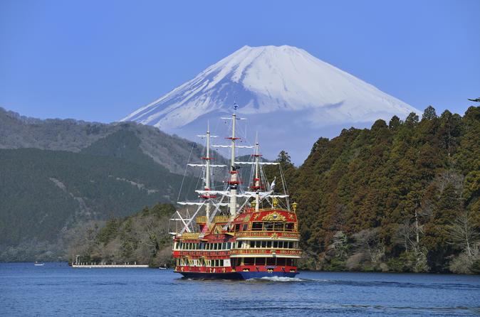 Viagem diurna ao Monte Fuji para cruzeiro pelo Lago Ashi e Castelo de Odawara, incluindo almoço