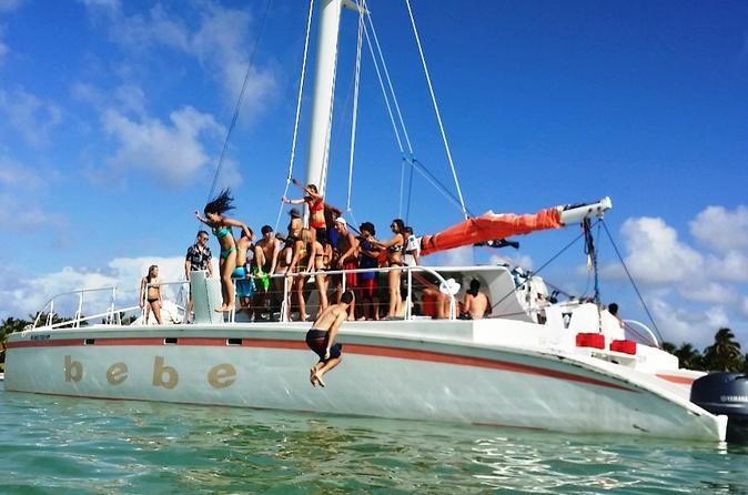 Half-Day Catamaran Cruise and Snorkeling from Punta Cana
