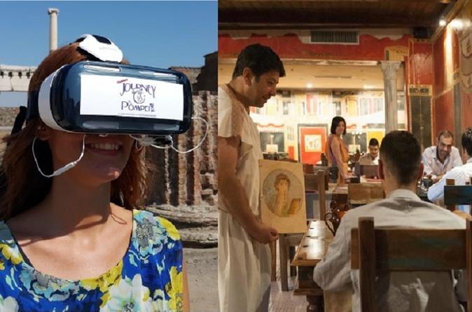 Ancient Pompeii-style Lunch Plus Pompeii Guided Tour With VR Headsets