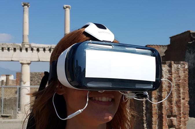 Private pompeii tour with 3d virtual reality headset in pompei 317065