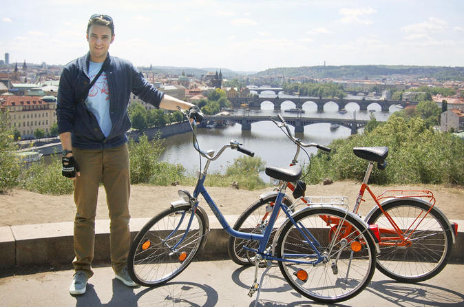 Small-Group Prague City Tour on Historical Bikes