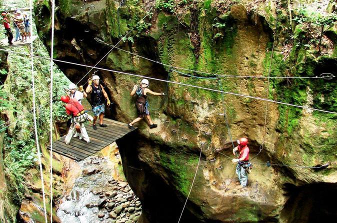 Guachipelin adventure zipline horseback river tubing combo in tamarindo 229212