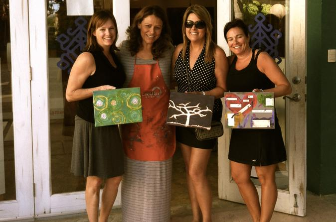 Art Class with Wine in San Jose del Cabo