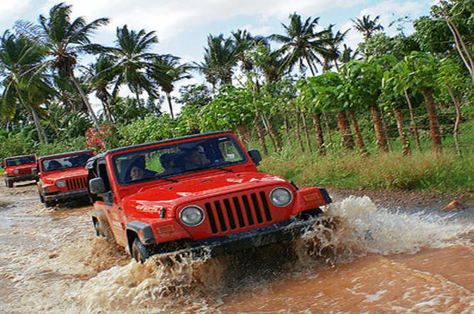 Punta Cana Countryside Jeep Safari Adventure