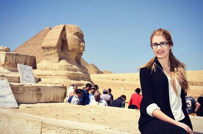 Excursão de dia inteiro saindo de Cairo: as pirâmides de Gizé, Esfinge, Mênfis e Saqqara
