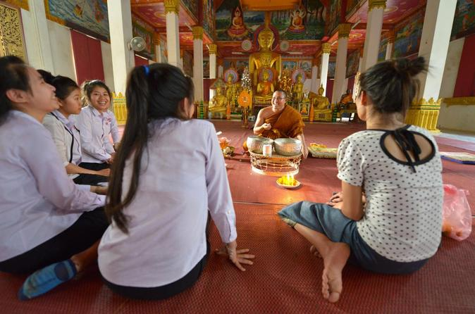 Wat sok pa luang temple experience including traditional sauna from in vientiane 279964