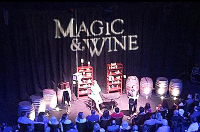 90 Minute Magic Show With Wine In Orange County