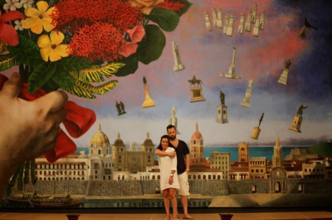 Excursão de arte em Cartagena