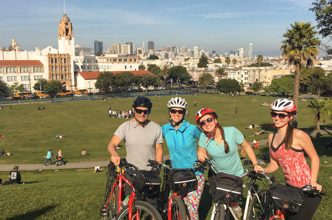 Heart of San Francisco Culture: a unique Bike and Food Tour United States, North America