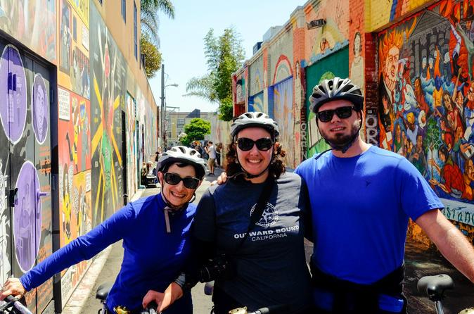 San Francisco Food, Mural Art, and History Bike Tour