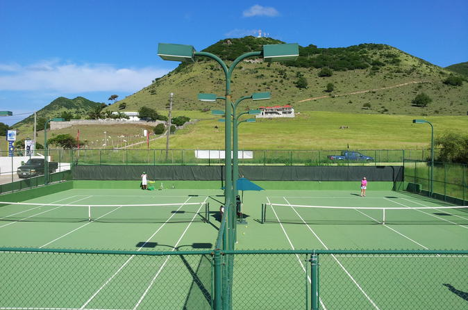 Saint-Martin, 4 personnes, clinique tennis
