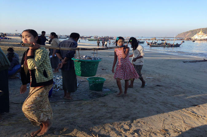 Day trip to local fishing village from ngapali beach in thandwe 304576
