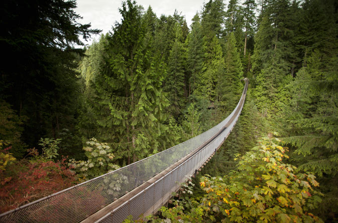 Private Tour to Capilano Bridge and Grouse Mountain