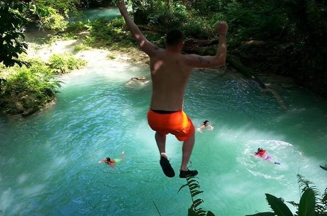 Private Day Trip to Jamaica's Blue Hole