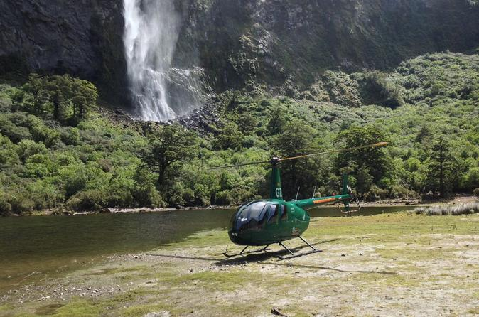 Doubtful sound scenic helicopter flight from te anau in te anau 242893