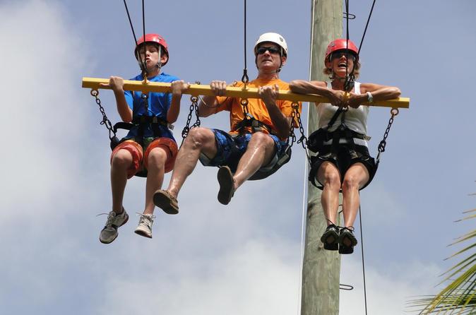 H'Evans Scent Zipline Adventure from Ocho Rios