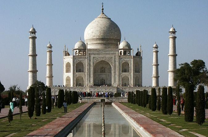 Taj Mahal Day Trip by Train from Jaipur Ending in Delhi India, Asia