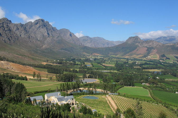Bicycle tour from stellenbosch to franschhoek valley in cape town 237329