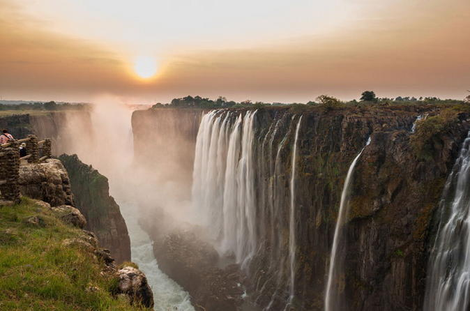 Sunrise cycle and guided walk at victoria falls in livingstone 242024