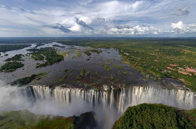 Sunset cycle and guided walk to victoria falls in livingstone 242057
