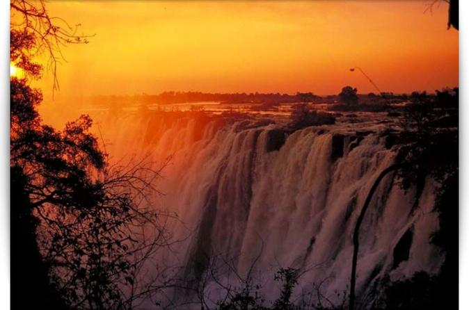 Victoria falls 3 hour sunset cycle in livingstone 242013