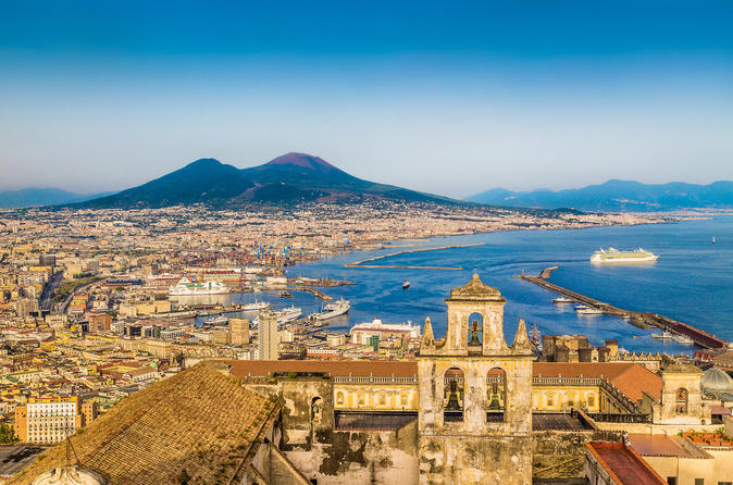 Private transfer from Naples to Sorrento including 2-3 hrs stop