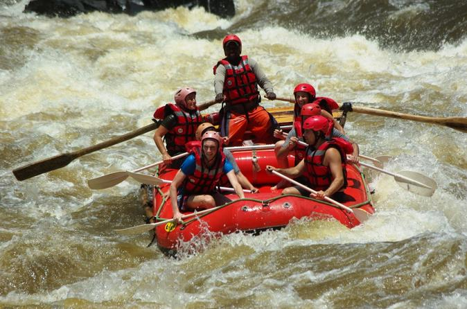 White water rafting high water in livingstone 253041
