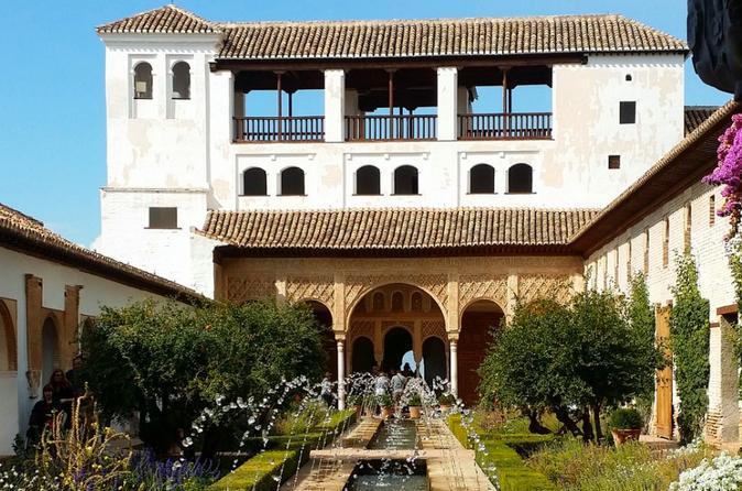 Excursão a Alhambra com partida de Marbella ou Málaga