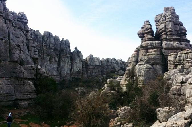 Unesco natural monument el torcal hiking trail tour from marbella in m laga 314471
