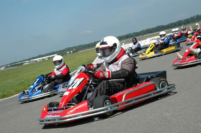 Prokart racing at pocono raceway in blakeslee 306985