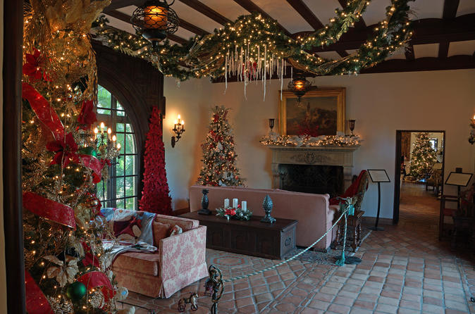 Christmas at Bok Tower Gardens with Pinewood Estate Tour