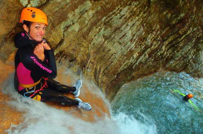 Gumpenfever canyoning tour from lake garda in tremosine 281858