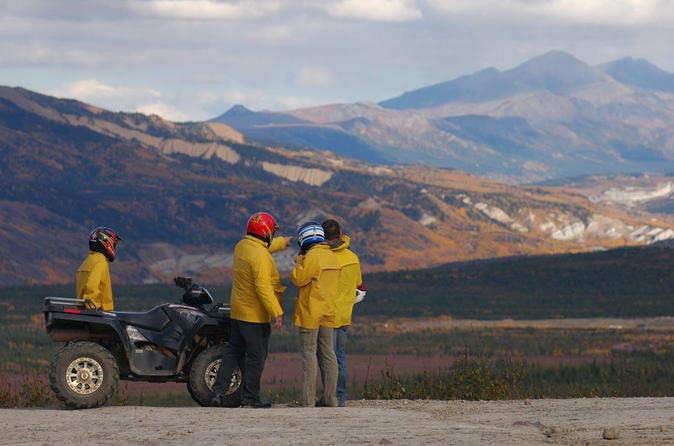 Classic atv adventure with back country dining in healy 283465