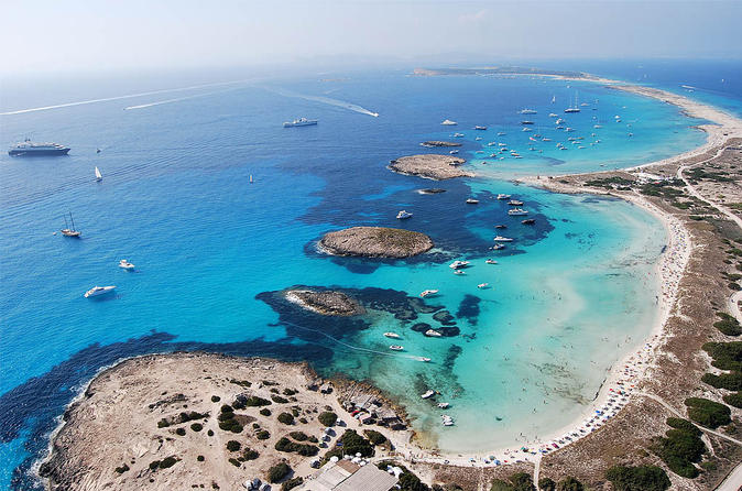 Formentera day trip from ibiza on private luxury catamaran in ibiza 326747