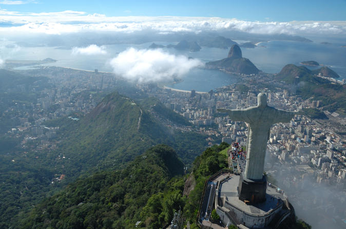 Christ the redeemer tour including transport and ticket in rio de janeiro 228793